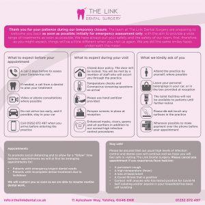 The Link Dental Practice Update